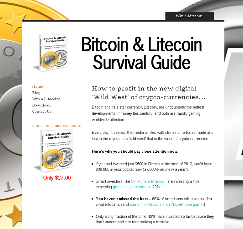 litecoin survival guide