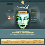 SatoshiDice - Bitcoin Gambling Dice Game