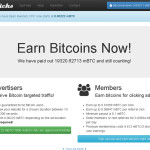 BTCClicks - Earn Bitcoin for Clicking Ads