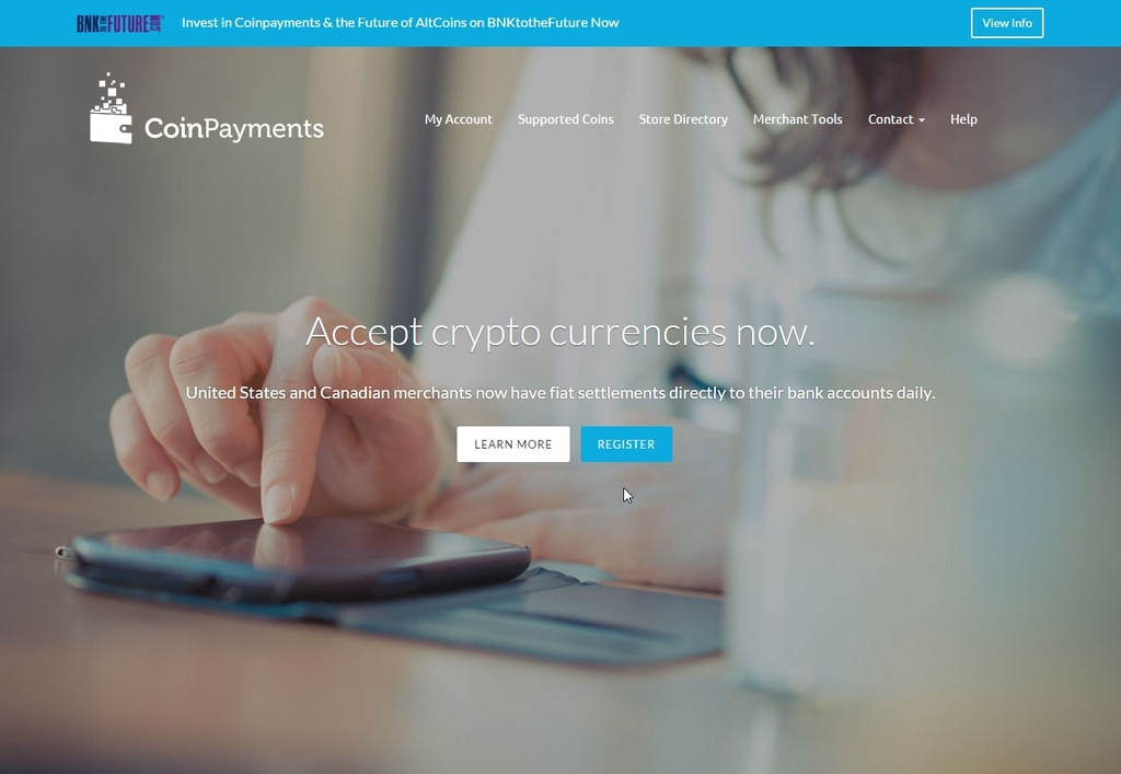 CoinPayments – Accept Multiple CryptoCurrencies Easily